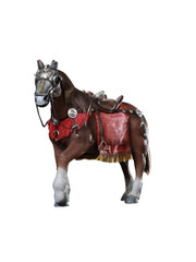 HHModel x HaoYuTOYS HH18007 1/6 Scale Imperial General Horse