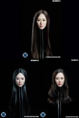 SUPER DUCK 1/6 Scale Asian Girl Head Sculpt SDH014