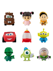 Disney Pixar Friends 2 mini figure Full Set x9pcs Collechara gashapon by Bandai