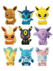 Pokemon Mini Figure Clip Part 2 Full Set x9pcs gashapon by Bandai