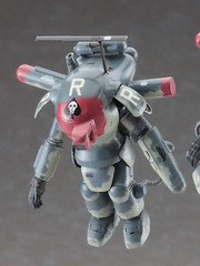 Maschinen Krieger SF3D Ma.K. Fireball SG Intruder x2 1/35 Model by Hasegawa
