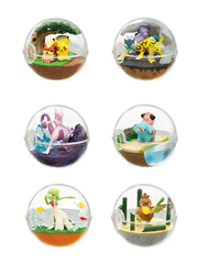 Pokemon Terrarium Collection 7 Pokeball Full Set by Re-ment