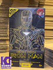 Hot Toys MMS523D29 Iron Man 2 Neon Tech Iron Man 2.0 Diecast 1/6th Scale Collectible Figure