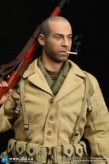 DID A80140 Private Caparzo WWII US 2nd Ranger Battalion Series 1 1/6 Figure