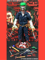 SUPERMAD TOYS HaHaHa Joke 52 1/6 Scale Figure Halloween Version