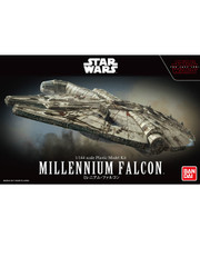 Star Wars 1/144 Millennium Falcon The Last Jedi Model by Bandai