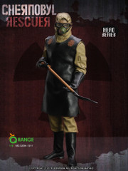 QORANGE QOTOYS 1/6 Scale The Chernobyl Rescuer 1QOM-1011 Costume Set