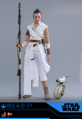 Hot Toys MMS559 Rey and D-O Star Wars The Rise of Skywalker 1/6th scale Collectible Set
