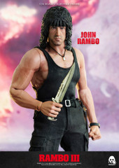 Threezero RAMBO III JOHN RAMBO  1/6 scale collectible figure