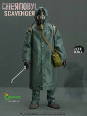 ORANGE QOTOYS 1/6 Scale The Chernobyl Scavenger 1QOM-1012 Costume Set