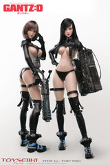 TOYSEIIKI Gantz:o REIKA & ANZU TS18 1/6th Scale Seamless Action Figure Set