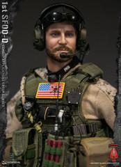 DAMTOYS 1st SFOD-D Combat Applications Group GUNNER 78074 1/6 Figure