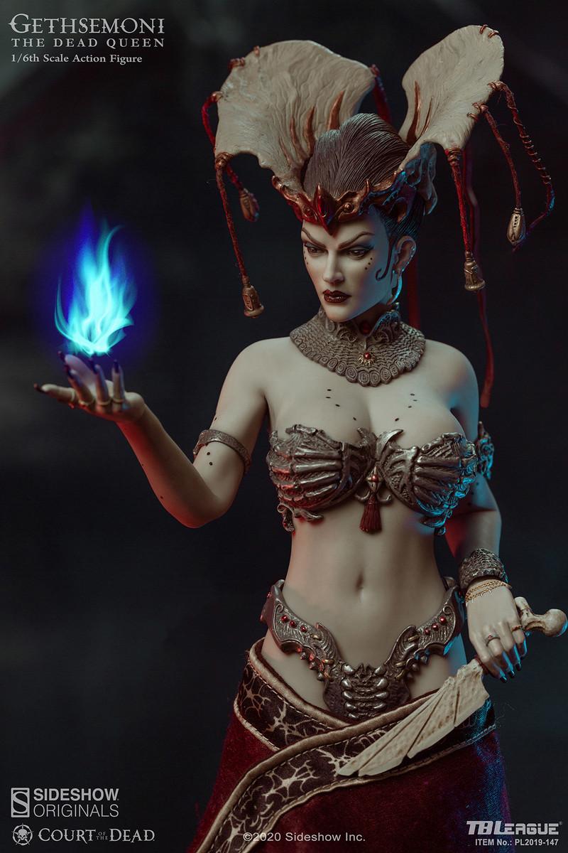 TBLeague Sideshow PL2019-147 1//6 Gethsemoni The Dead Queen Figure Ankle Armors