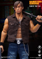 DAMTOYS Gangsters Kingdom Club 4 Yao Tian GK019A 1/6 Figure