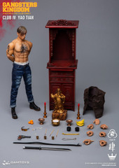 DAMTOYS Gangsters Kingdom Club 4 Yao Tian GK019A  + Worship Tabernacle