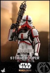 Hot Toys TMS012 Incinerator Stormtrooper The Mandalorian  1/6th scale Collectible Figure