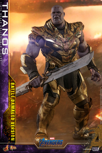 Hot Toys MMS564 Thanos (Battle Damaged Version)