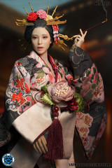 SUPER DUCK SET052 1/6 Scale Oiran Head Sculpt + Costume Set