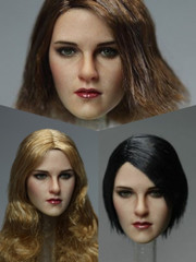 Kimi Toys  KT010 1/6 Scale Female Head Sculpt Caucasian Suntan Skin