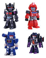 Takara Transformers Bitfig Ironhide Soundwave Skywarp Black Convoy Capsule Gashapon Part 2
