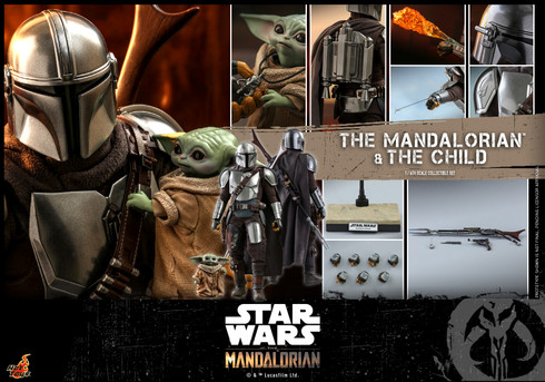 Hot Toys The Mandalorian and The Child TMS014