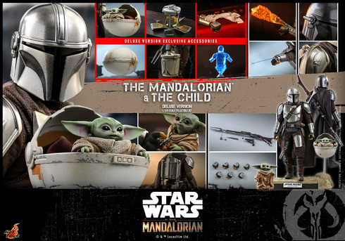 Hot Toys TMS015 The Mandalorian and The Child (Deluxe Version)