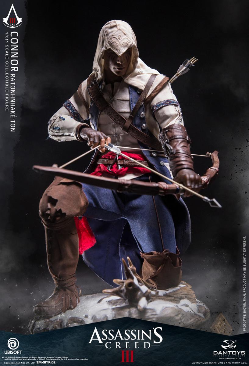 Damtoys Connor Assassin S Creed Iii Dms010 Kghobby Com