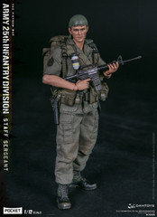 DAMTOYS PES006 1/12 Scale ARMY 25th Infantry Division Private STAFF SERGEANT
