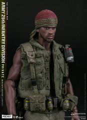 DAMTOYS PES011 1/12 Scale ARMY 25th Infantry Division Private WITH M79 GRENADE LAUNCHER