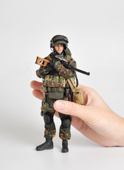 Crazy Figure LW009 1/12  Russian alpha special forces sniper