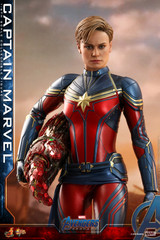 Hot Toys MMS575 Captain Marvel Avengers Endgame 1/6th scale Collectible Figure