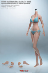TBLeague S36A 1/6 Pale Skin Large Breast Anime Girls Seamless Body with Metal Skeleton