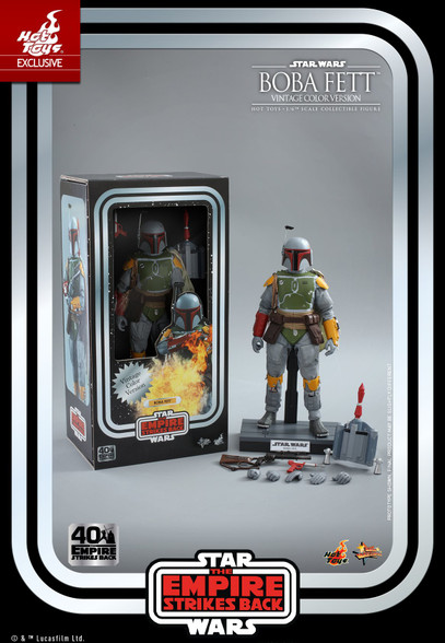 Hot Toys Boba Fett Vintage Color Version MMS571