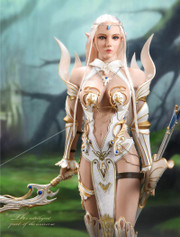 LUCIFER LXF1904A Elf Queen Emma 1/6 Figure Armor Version