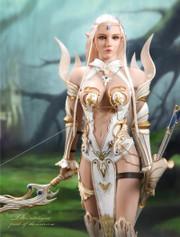 LUCIFER LXF1904A Elf Queen Emma 1/6 Figure Armor Version