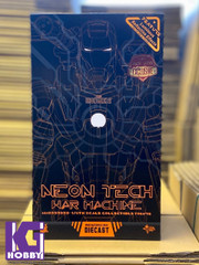 Hot Toys MMS553D35 Neon Tech War Machine Iron Man 2 1/6 Collectible Figure