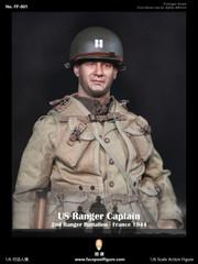 Facepool figure FP001 US Ranger Captain France 1944 1/6 Action Figure