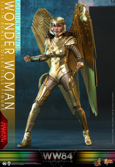 Hot Toys MMS578 Wonder Woman 1984 Deluxe Version 1/6th scale Golden Armor Wonder Woman Collectible Figure