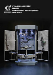 2GOODCD AS-003-20 1/12 Scale  Armoury With Weapons & Military Equipment