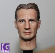 1/6 Action Figure HeadPlay Head Sculpt - Liam Neeson