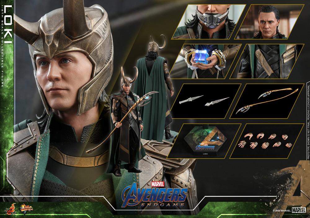 Hot Toys MMS579 Loki