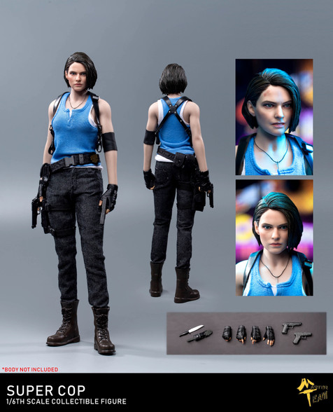 MTTOYS Girl Super Cop Jill