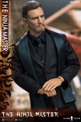 Mars Toys MAT003 The Ninja master 1/6 scale head sculpt + costume set