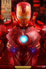Hot Toys MMS568 Iron Man Mark IV (Holographic Version) 1/6th Scale Collectible Figure