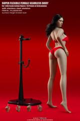 TBLeague S43 1/6 Suntan Skin Large Breast Tall Girls Seamless Body with Head Sculpt