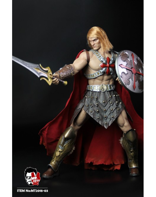 1//6 Scale Power Sword /& Sheath Barbarian He Man MR Toys Action Figures