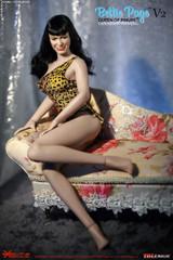 Tbleague Bettie Page V2 Queen of Pinups ERTBLBP005 1/6th Scale Action Figure