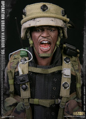 "DAMTOYS 78080 1/6 Operation Urban Warrior '99 - Marine Corps urban warfare exercises in Oakland ""Gunnery sergeant Crews"" collectible Action Figure"