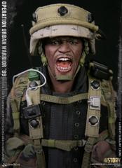 "DAMTOYS 78080 1/6 Operation Urban Warrior '99 - Marine Corps urban warfare exercises in Oakland ""Gunnery sergeant Crews"" collectible Action Figure"