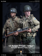 Facepoolfigure FP-003 WWII US RANGER PRIVATE SNIPER 1/6 Figure Regular Version